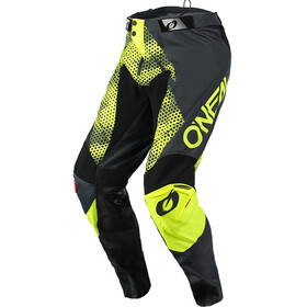 O'Neal Mayhem Lite Pantalon Homme, covert-charcoal/neon yellow